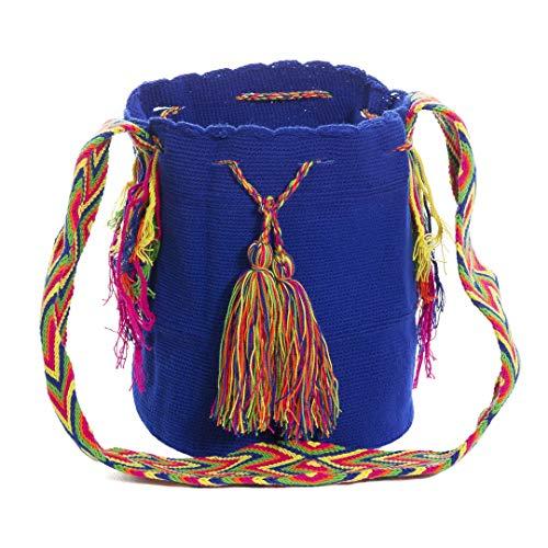 Wayuu Auténticos bolsos, hechos a mano con ayuda de pequeña maquinaria por las tribus...