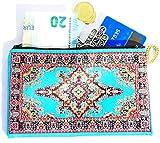 Monedero Turco Tradicional con Cremallera - Ideal para Monedas, Tarjeta, Llaves...